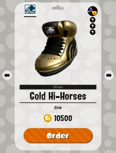 Splatoon 2 Gold Hi-Horses