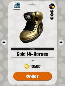 Splatoon 2 Gold Hi-Horses