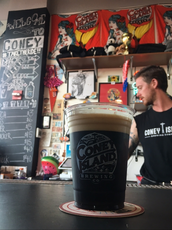 Coney Island Brewery Black Lager