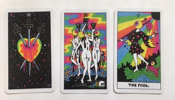 Oliver Hibert Psychedelic Tarot