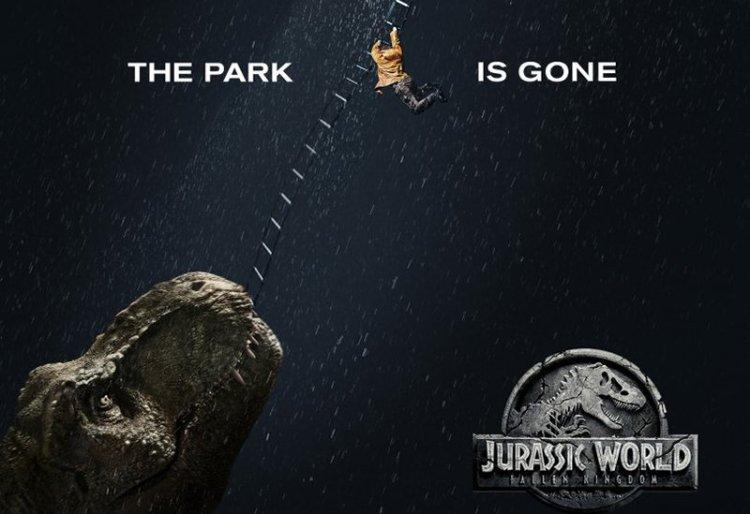 Fallen Kingdom Movie Poster TRex