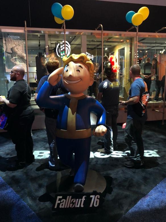 Vault boy at E3 2018