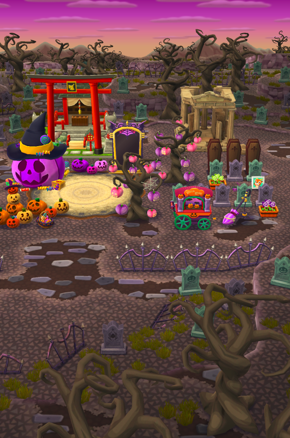 Animal Crossing Pocket Camp Halloween